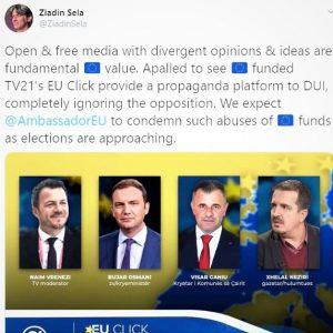 Dënojmë etiketimet publike të Aleancës për Shqiptarët ndaj TV 21
