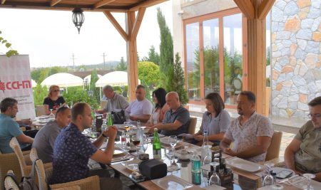 Regional meeting of AJM and SSNM with journalists and media workers from Kumanovo