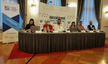 Новинарите на Балканот се под притисок – панел на Европската федерација во Загреб